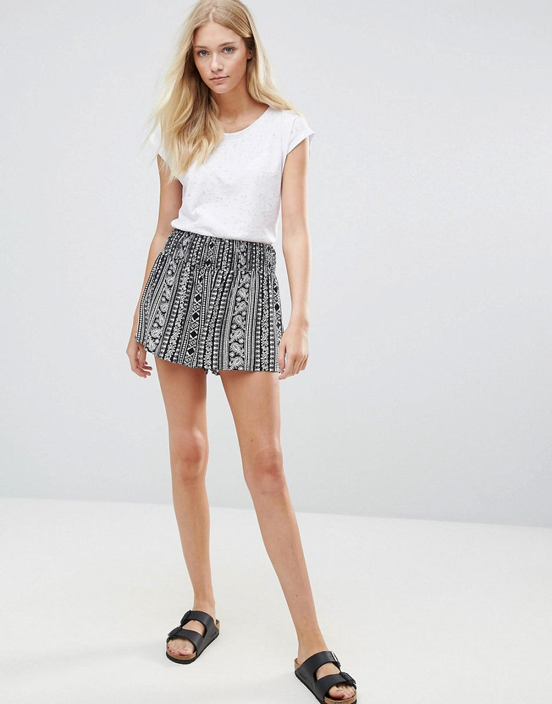 Blend She Stelle Printed Shorts - Printed