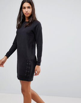Blend She Sara Jumper Dress - Black