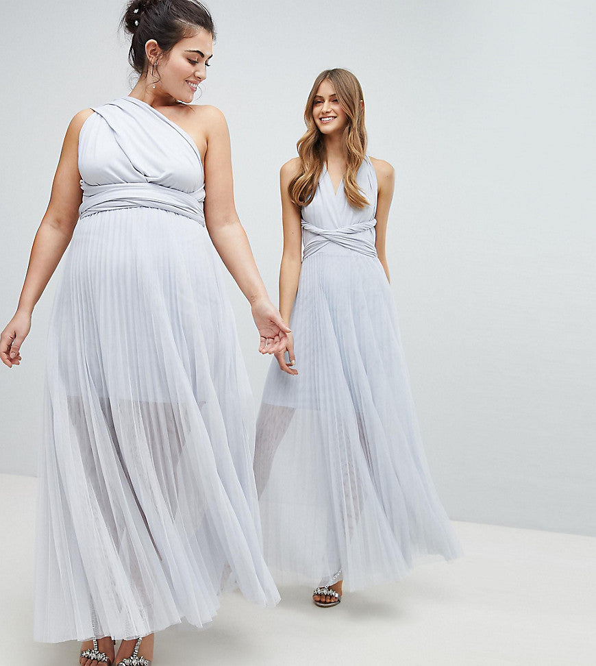 c552500d99e Coast Plus Exclusive Corwin Multi Tie Maxi Dress - Silver – Dresses247