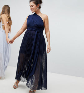 Coast Plus Corwin Multi Tie Maxi Dress - Navy