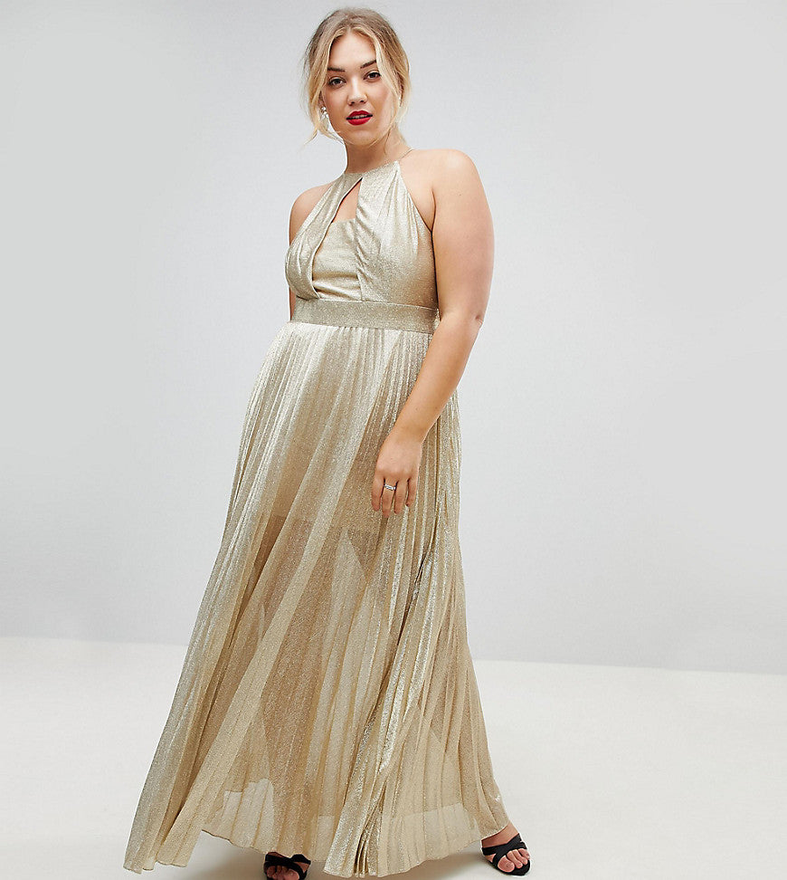 Coast Plus Tyler Maxi Dress - Gold