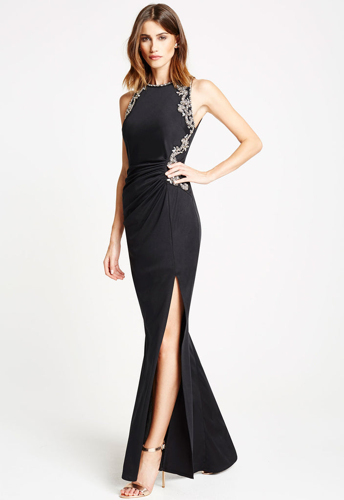 *Available for Pre-Order* LBD Myla Jewel Embellished Maxi Dress