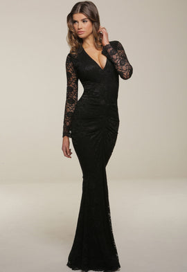 Honor Gold Savannah Maxi Dress in Black 9ad6102c0