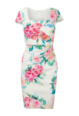 Sistaglam by Lipstick Boutique Jessica Wright Elsa Floral Bodycon Dress