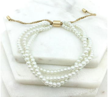 Pretty in Pearls Pull Bracelet