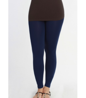 Plus Size Solid NAVY Leggings (Fits size 12-22)