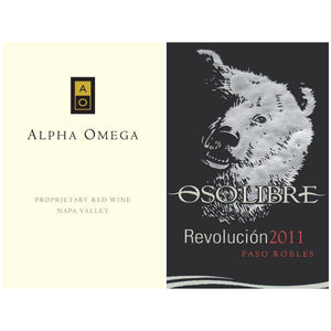 ALPHA OMEGA Proprietary Red Napa Valley 2012 | OSO LIBRE Revolución 2011