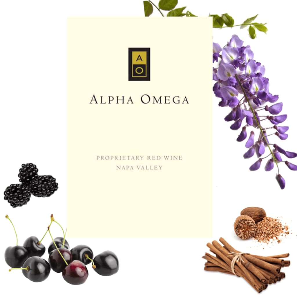 ALPHA OMEGA Proprietary Red Wine Napa Valley 2012