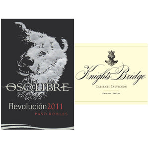 OSO LIBRE Revolución 2011 | KNIGHTS BRIDGE Cabernet Sauvignon Knights Valley 2012