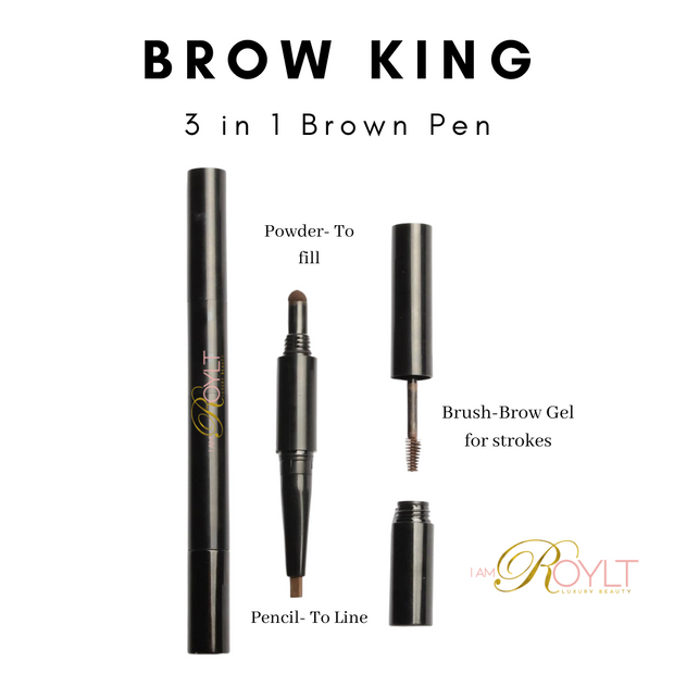 Brow King- 3 in 1 Brow Set