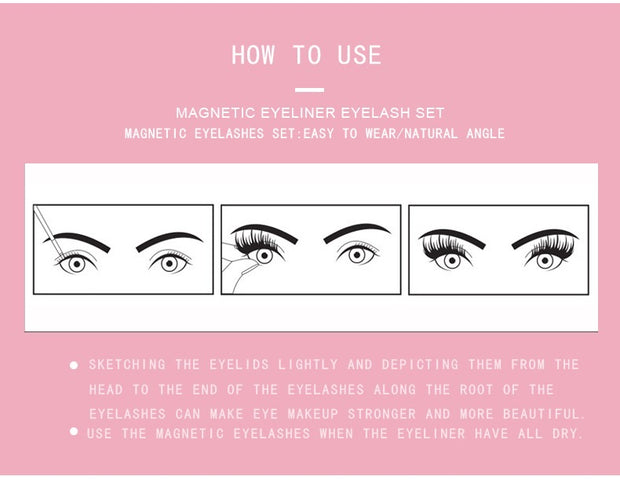 Magnetic Eyeliner and Lashes - IAMROYLT