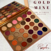 The Gold Mine Eyeshadow Palette! - IAMROYLT