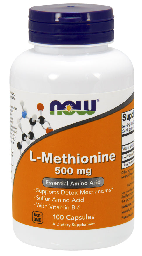 Now Foods L-Methionine 500 mg - 100 Caps