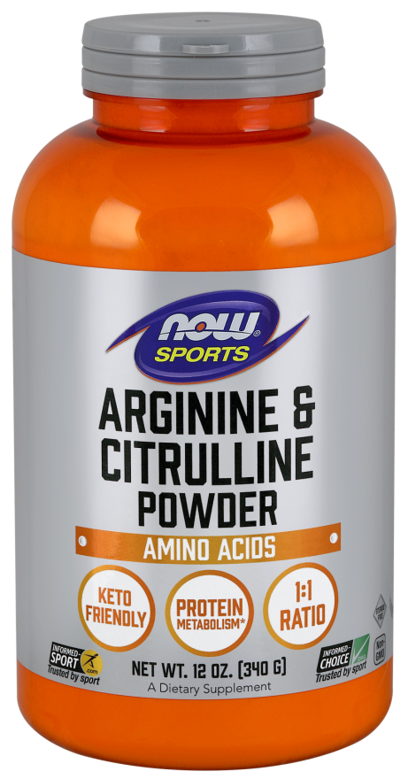 Now Foods - Arginine & Citrulline Powder