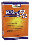 Now Foods Instant Energy B-12 - 2,000 mcg - 75 Packets