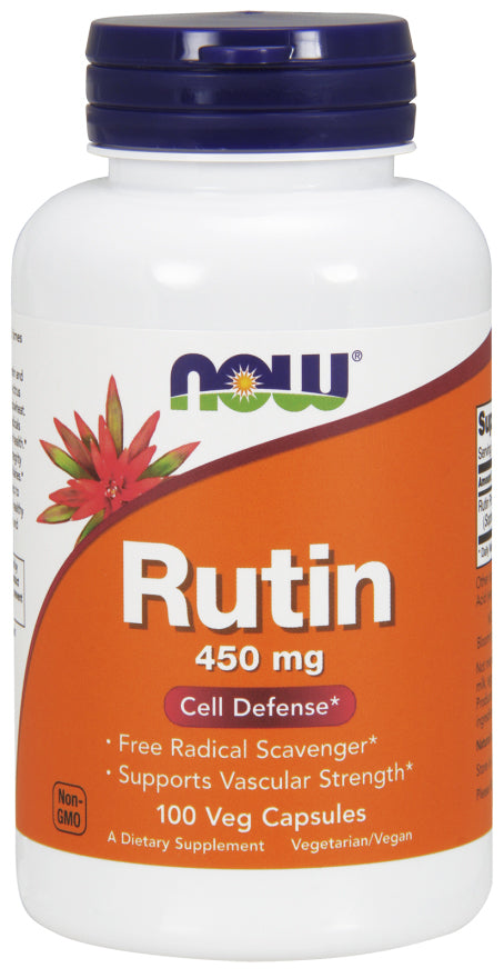 Now Foods Rutin 450 mg - 100 Veg Caps