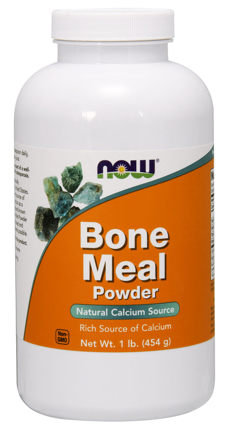 Now Foods, Bone Meal, Powder, 454 g( 1lb)
