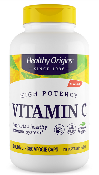 Healthy Origins - VITAMIN C 1,000MG (NON-GMO)