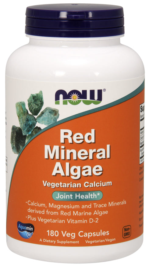 Now Foods Red Mineral Algae, 180 VCaps, Joint Health