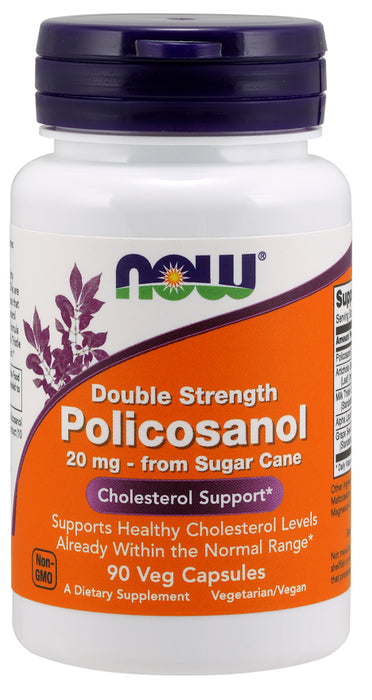 Now Foods Policosanol, Double Strength, 90 Veg Caps