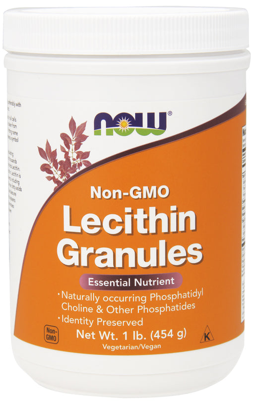 Now Foods Lecithin Granules Non-GMO 454g