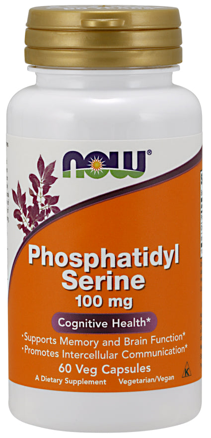 Now Foods Phosphatidyl Serine 100 mg - 60 Veg Caps