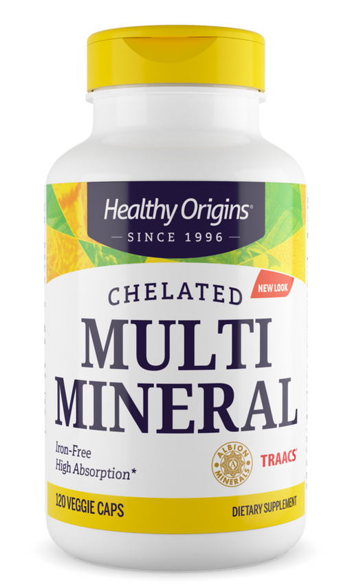 Healthy Origins - MULTI MINERAL - CHELATED, 120 VCAPS