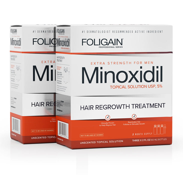 Foligain - Minoxidil 5% Hair Regrowth Treatment For Men