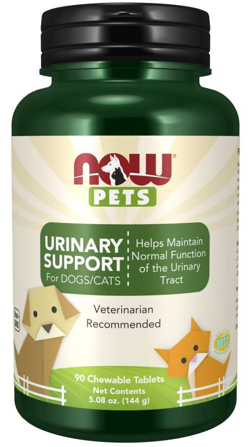Now Foods - Urinary Support Chewable Tablets for Dogs & Cats - 90 Tabs