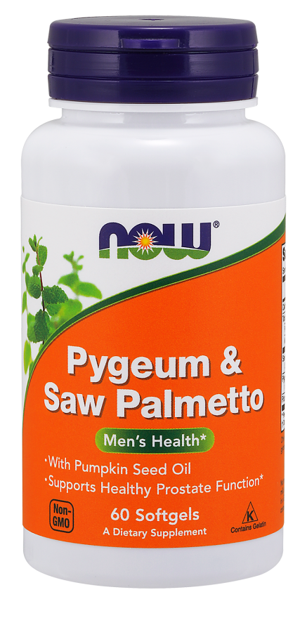 Now Foods - Pygeum & Saw Palmetto Softgels