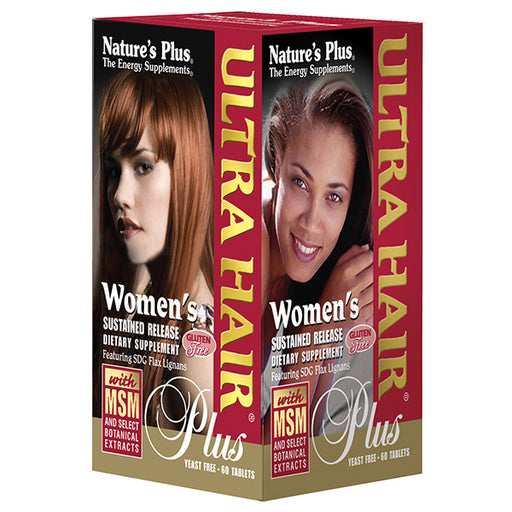Natures Plus Ultra Hair Plus for Women Sustained Release (60 Tabs)
