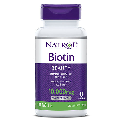 Natrol - Biotin 10,000mcg 100ct Tablets