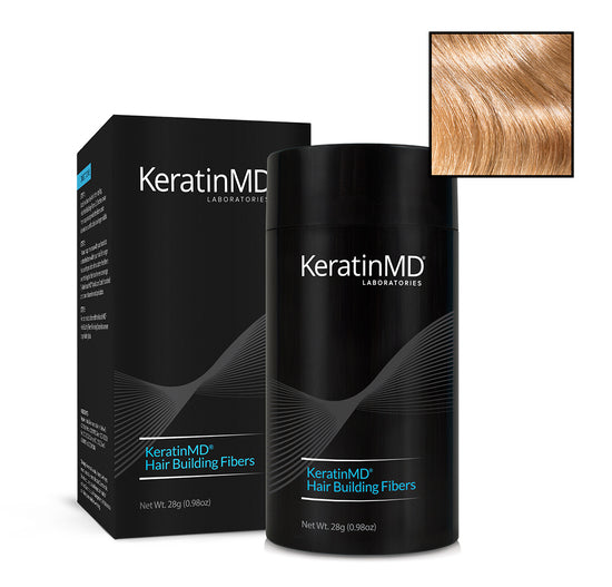 KeratinMD HAIR BUILDING FIBERS (8 Shades) 60 Day Supply 28g