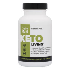 Natures Plus KetoLiving™ Daily Multi Capsules (90 Caps)
