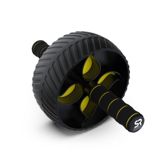 Sports Research - Ab Wheel with Kneepad