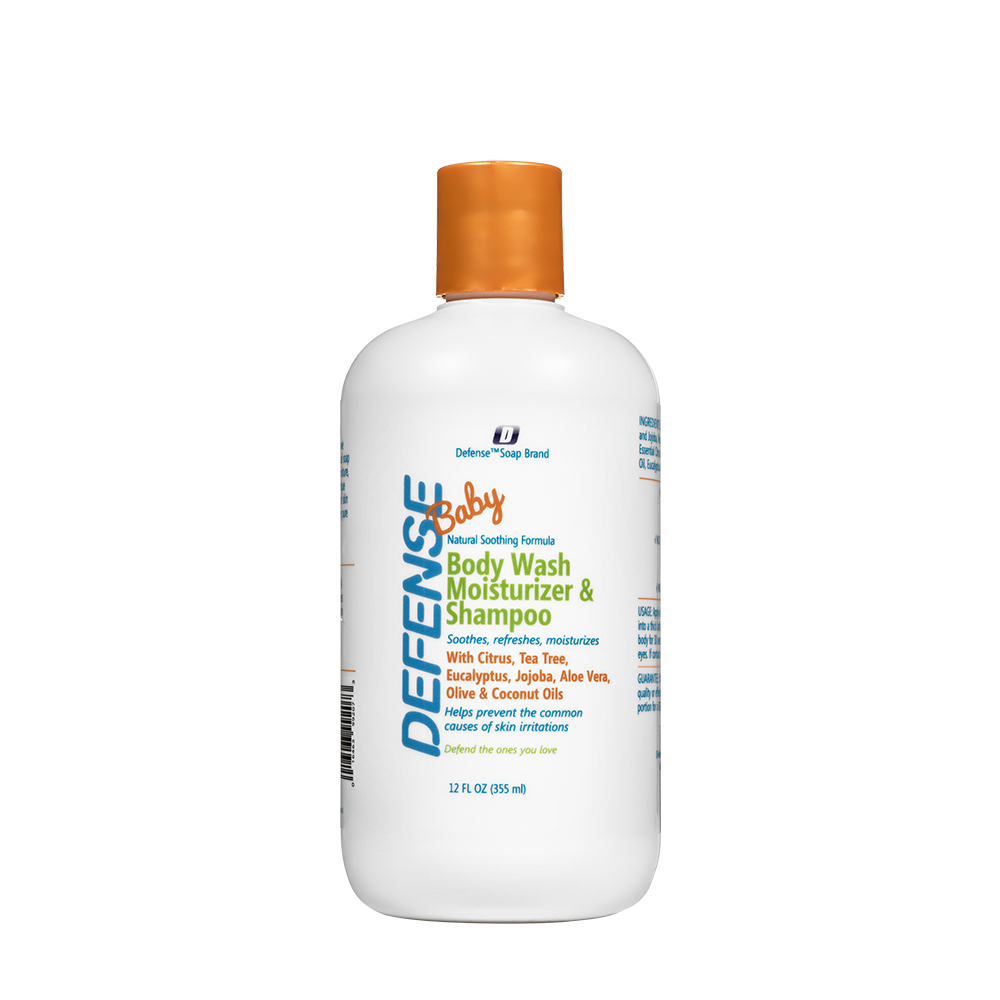 Defense Soap - Baby Wash Moisturizer & Shampoo, 355ml