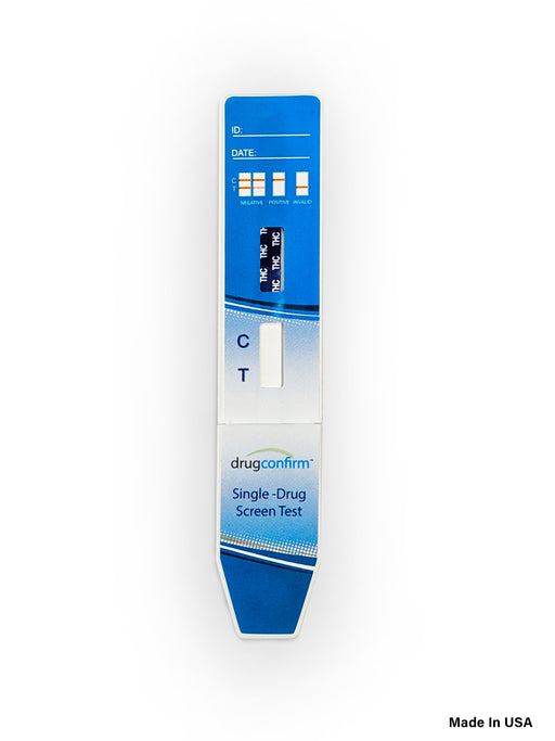 DrugConfirm - Urine Drug Dip test Kit, Single THC Screening
