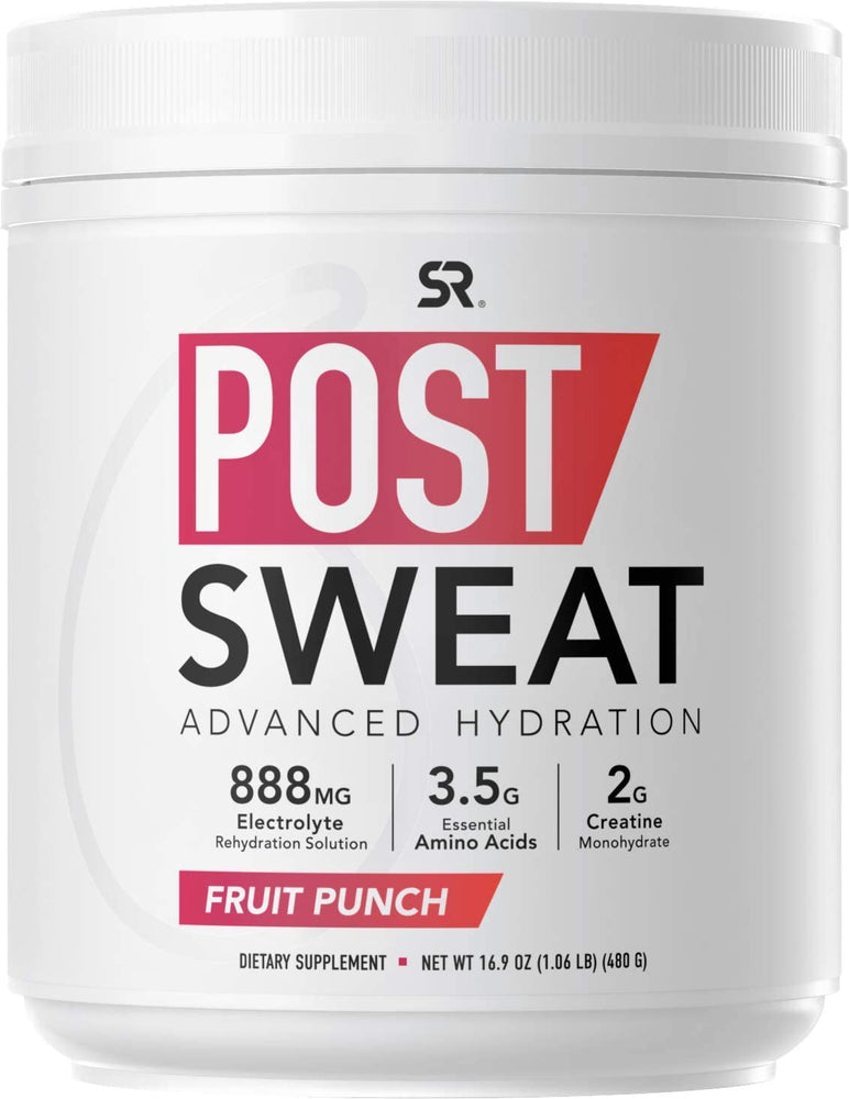 Sports Research - Post Sweat, Post-Workout Recovery Drink, 480g - 2 Flavoures