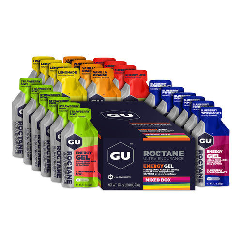 GU Energy Roctane Gel - Box of 24, 10 Flavours