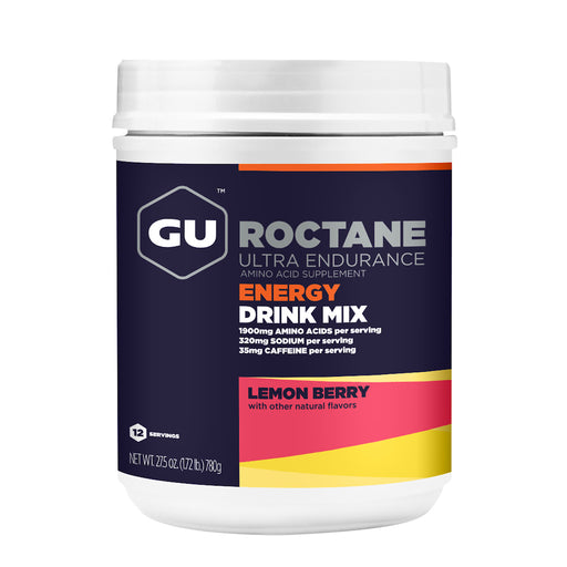 GU Roctane Energy Drink Mix, 2 Sizes, 2 Flavours