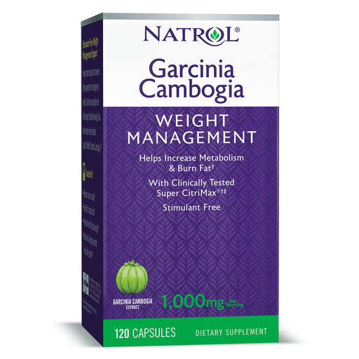 Natrol - Garcinia Cambogia, Weight Management, 1000mg 120Caps