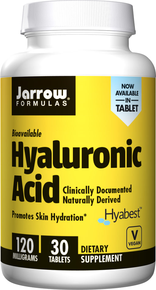 Jarrow Formulas - Hyaluronic Acid, Beauty Support & Joint Health, 120mg 30Tabs