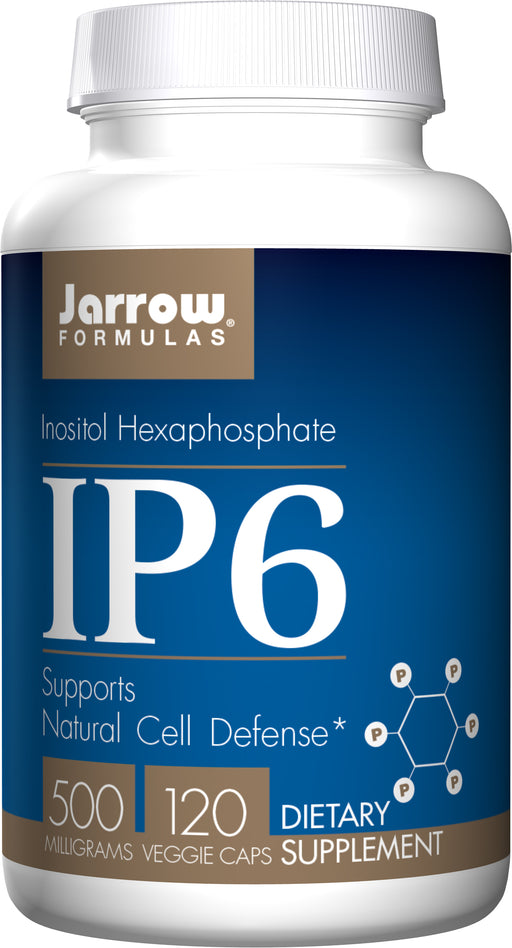 Jarrow Formulas - IP6 500mg 120 VCaps, Supports Natural Cell Defense