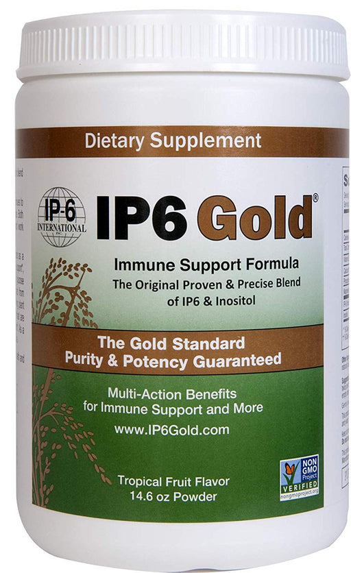 IP6 GOLD Powder - with Stevia Tropical Fruit Flavour