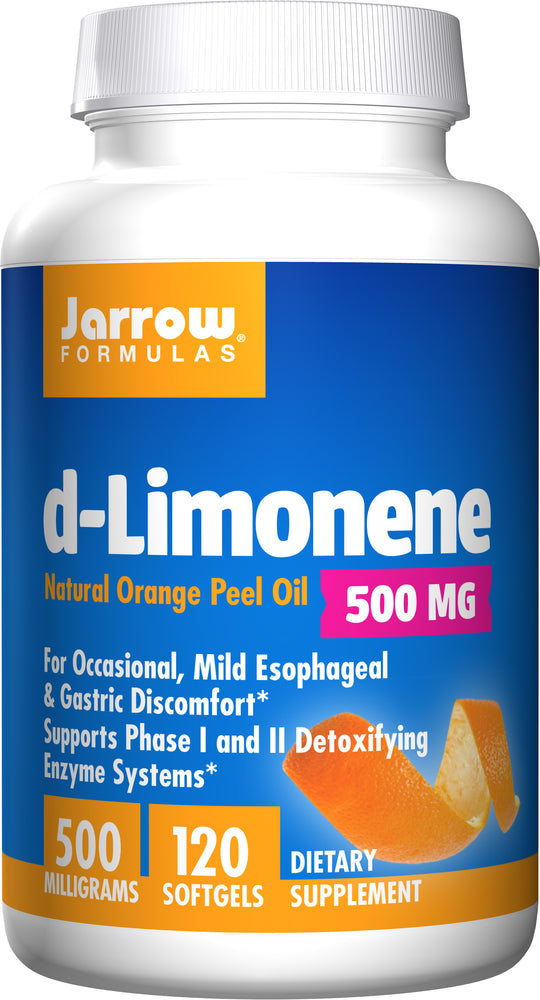 Jarrow Formulas, d-Limonene, 1000 mg per serve, 120 Softgels
