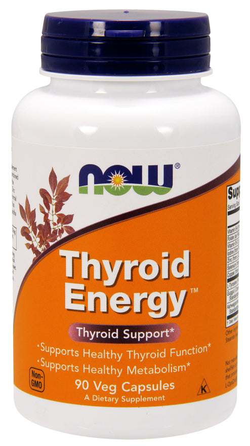 Now Foods - Thyroid Energy, 90 Veg Caps