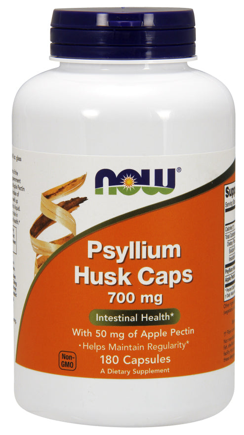Now Foods - Psyllium Husk 750 mg - 180 Caps