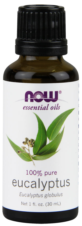 Now Foods - Essential Oils 100% Pure Eucalyptus Oil, 1oz 30ml