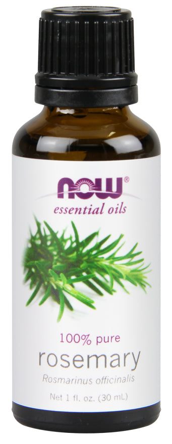 Now Foods - Essential Oils 100% Pure Rosemary Oil, 1oz 30ml