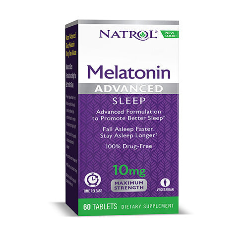 Natrol - Advanced Sleep Melatonin 10mg 60 tabs